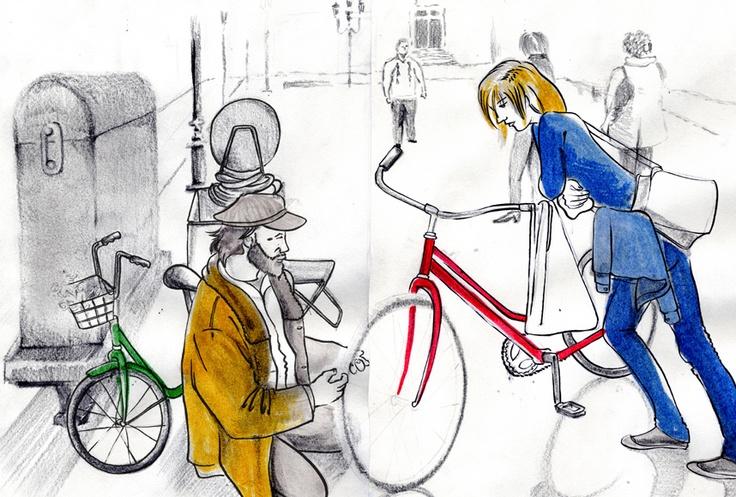 Arreglando una bici