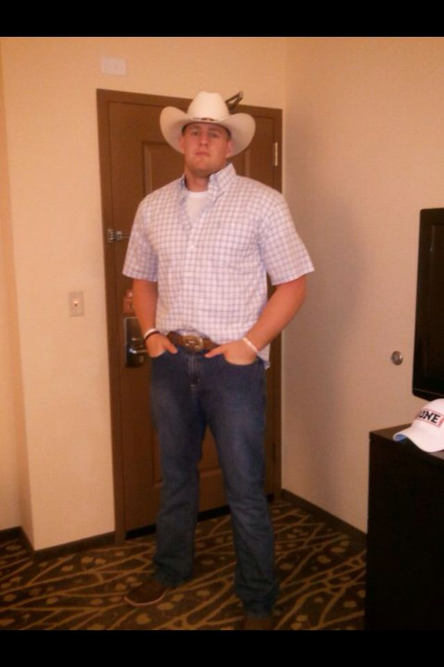 Hello Mr. JJ Watt!!! He sure does know how to rep Texas!!!