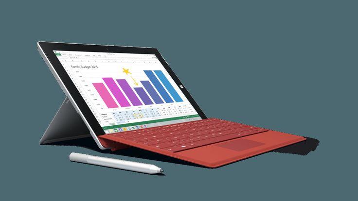 Microsoft Announce Surface 3 running full Windows 8.1 - http://mightygadget.co.uk/microsoft-announce-surface-3-running-full-windows-81/?Pinterest