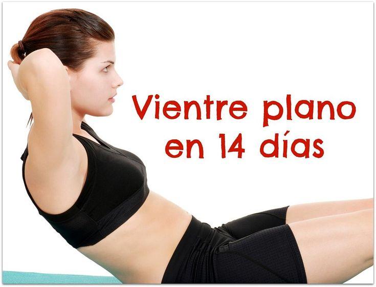 Apunta los ejercicios que nos deja CONSEJOS DE BELLEZA para lograr un vientre plano en 14 días.