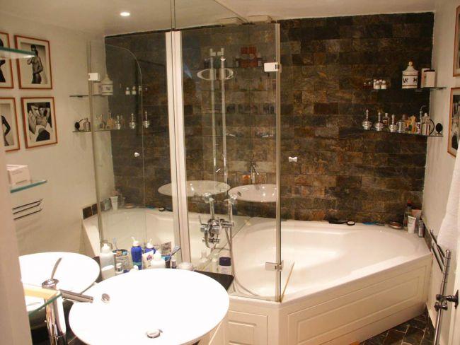 Luxuriöses Badezimmer in Saint Tropez