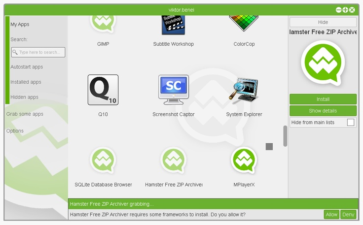 AppWhirr update with full control over framework installation!