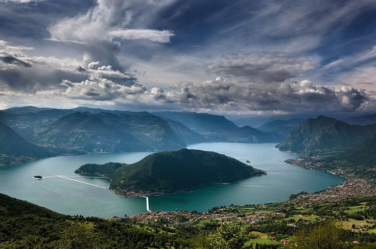 foto di Carlo Piccinelli: Floating Piers, Lago d'Iseo