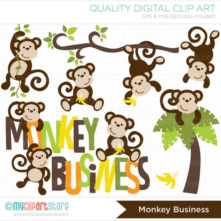 Monkey Business / Monkey clipart