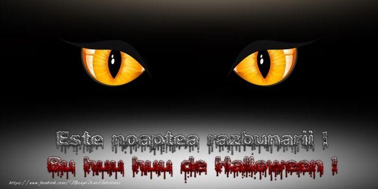 Este noaptea razbunarii! Bu Huu Huu de Halloween!