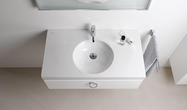 Geberit Keramag Preciosa Ii Washbasin W 60xd 50cm 1 Tap Hole