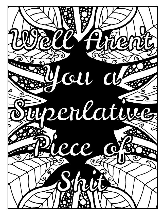 193 Best Swear Word Coloring Books Images On Pinterest