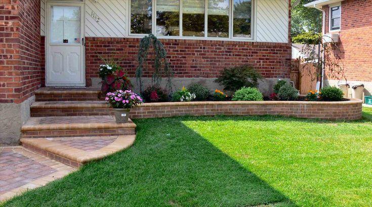Landschaftsgestaltung des Vorgartens einfach alle Bilder Gartengelände des Vorgartens einfach