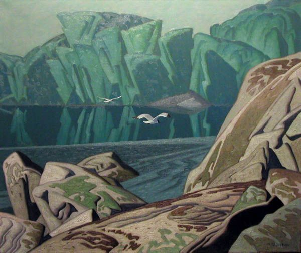 Alfred Joseph Casson (1898-1992) - Summer Morning, 1948