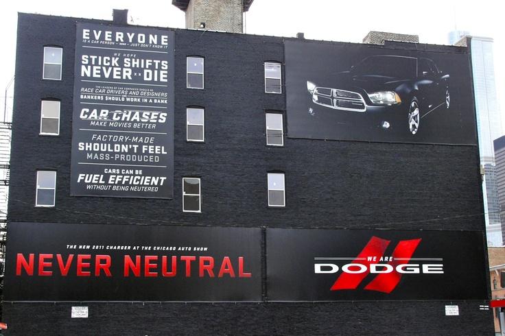 #Dodge #Charger & #Durango #Automotive #Silver #Award #OOH #Media #Plan #Awards