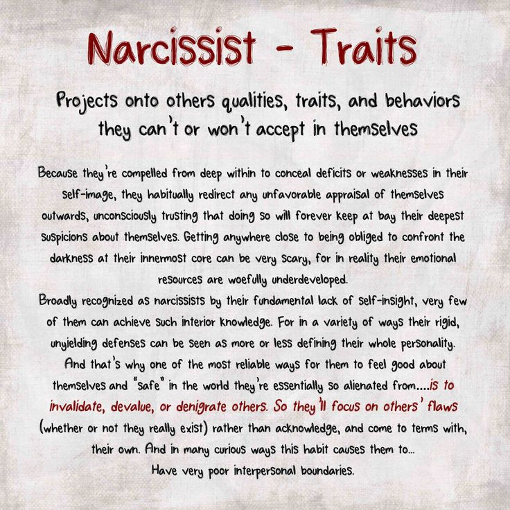 dating a narcissist and their fantasy traits