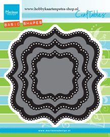 Craftables CR1404 Basic Classic square