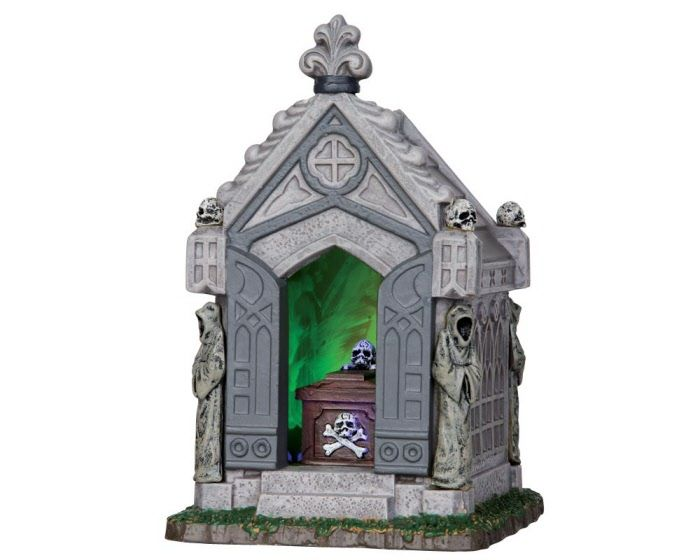 haunted crypt 2013 collectible collection lighted table piece by lemax collections