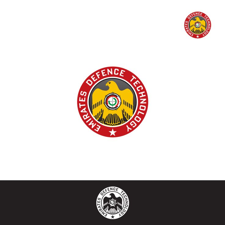 Logo design for Emirates Defence Technology