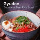 Gyudon (Japanese Beef & Rice Bowl) - one of the most popular fast foods in Japan : GifRecipes