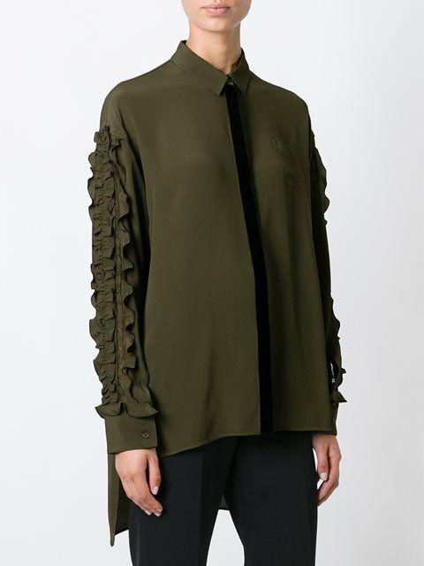 Nº21 блузка с оборками