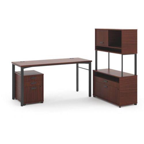 contemporary desk lamps office. Basyx Manage 6 Piece L-Shape Desk Office Suite Finish: Chestnut Contemporary Lamps I
