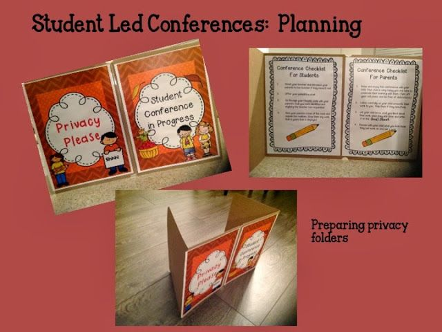 WIN WIN ~Student Led Conferences Made Easy!