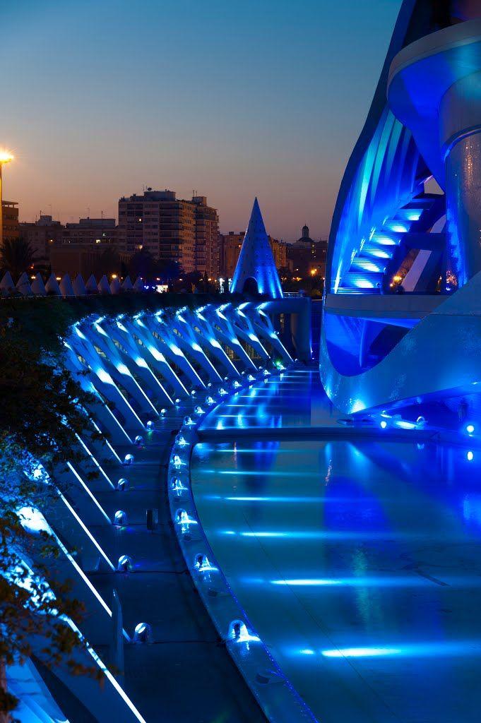Ciudad de las Artes y las Ciencias Valencia. España