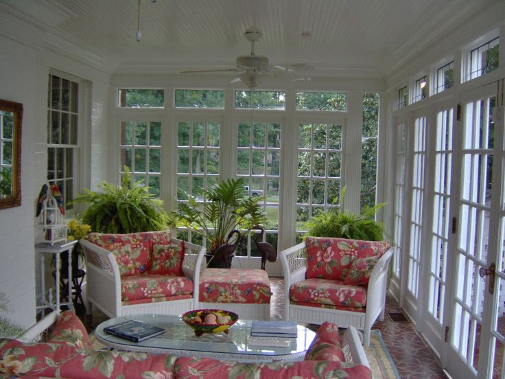 Elegant Sunroom Bedroom Ideas