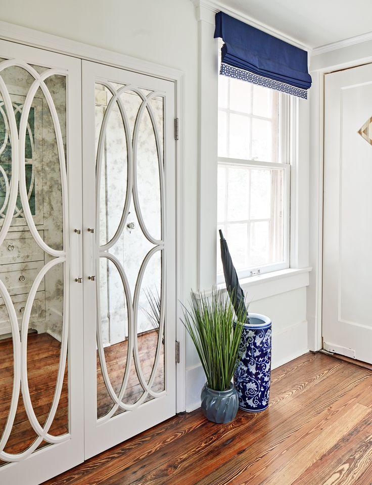 Antique mirror closet doors haven design construction