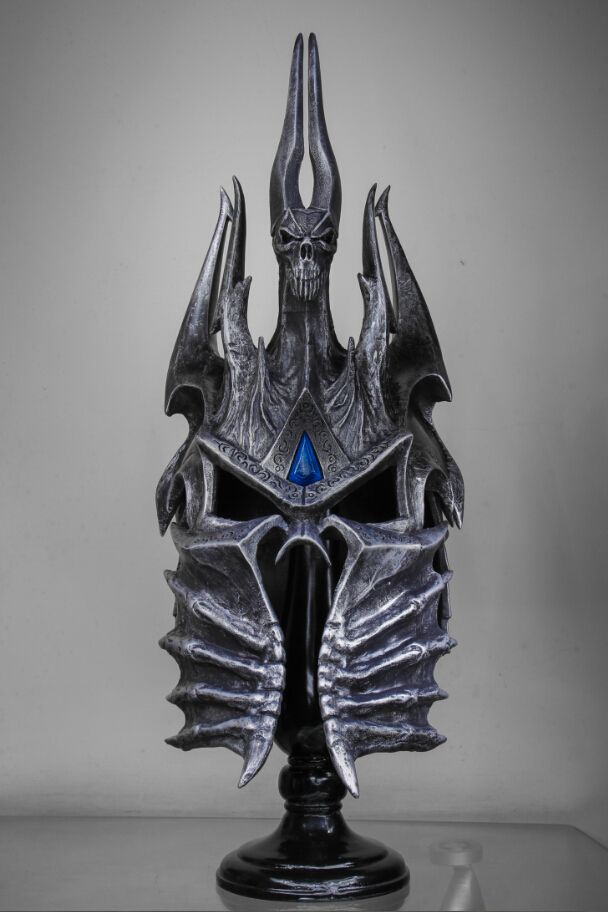 World of War craft WOW Lich King Death Knights Helmet Frostmourne 1:1 Scale-in Resin Crafts from Home & Garden on Aliexpress.com | Alibaba Group