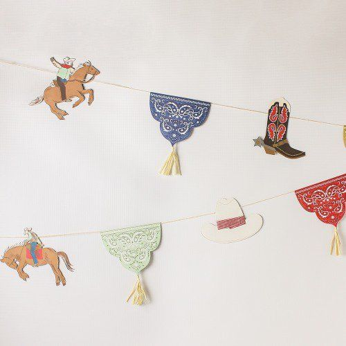 Rodeo Party Garland by Beau-coup