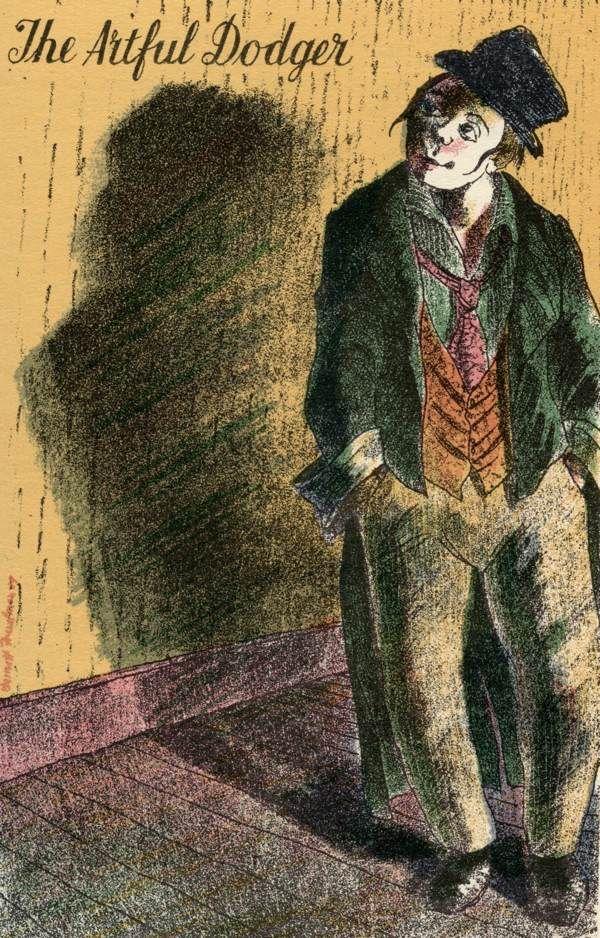Barnett Freedman: The Artful Dodger. Matthew inspiration