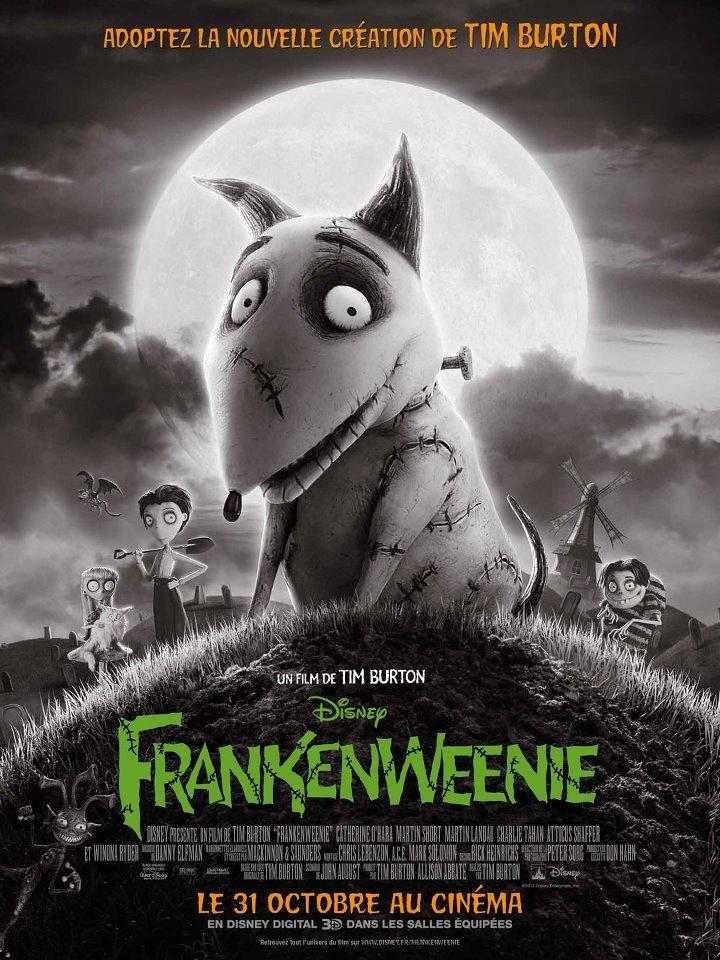 Utilisez cette affiche comme couverture de votre board 'Concours Frankenweenie'.
