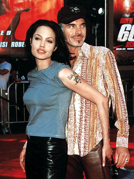 ANGELINA JOLIE & BILLY BOB THORNTON/****They were really SICK together.