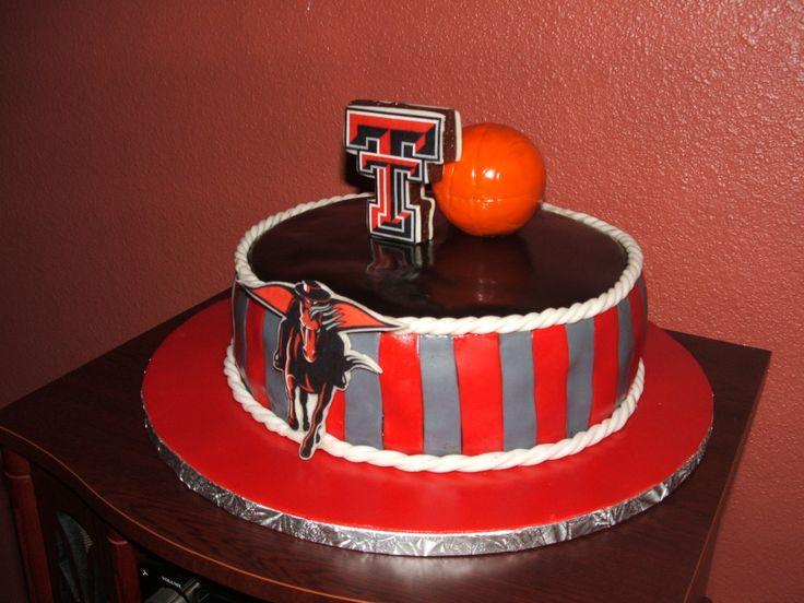 Texas Tech cake