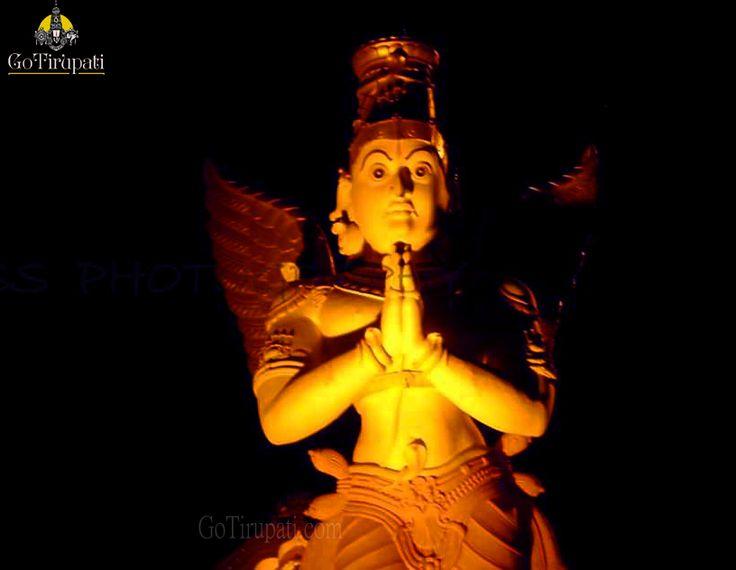 Garuda Statue at Alipiri , Foot Hills of Tirumala.