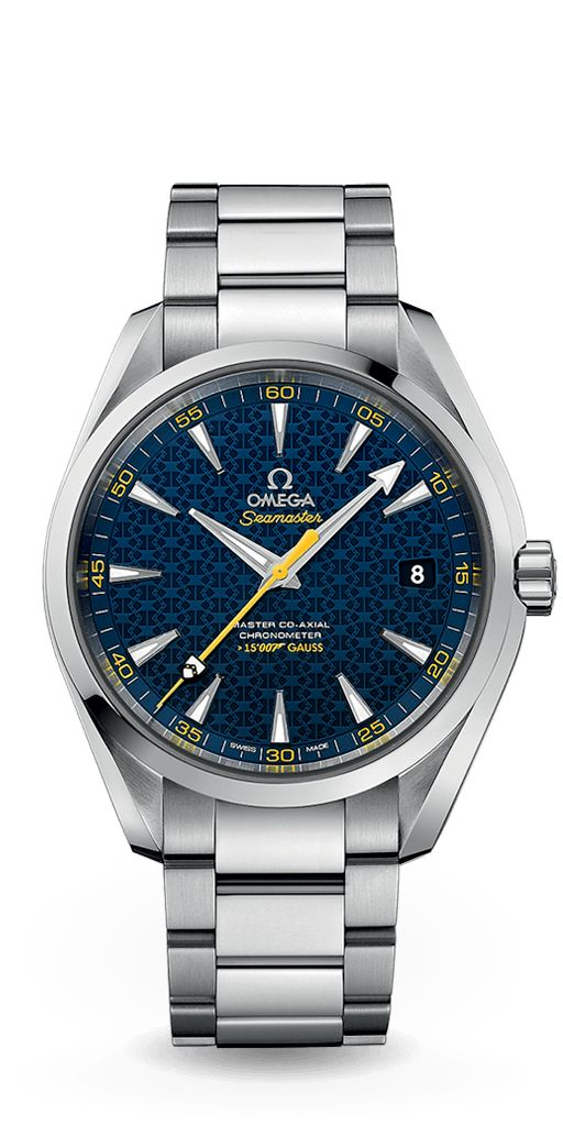 OMEGA Watches: Discover the Seamaster Aqua Terra James Bond Limited Edition unveiled at Baselworld 2015.