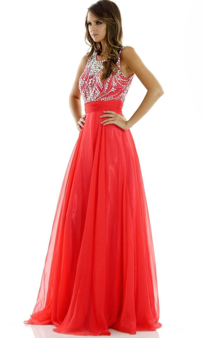 Sexy prom dress- Gorgeous illusion neckline dress with full rhinestone bodice and back. 101-7136 Prom dress Evening gown Bridesmaid dress