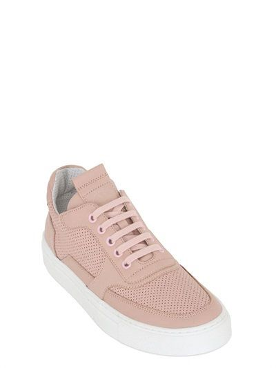 MERCURY 775 PERFORATED LEATHER SNEAKERS