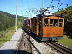 Vamos a descubrir el tren - Le Train de la Rhune - Train touristique sur la chaîne pyrénéenne