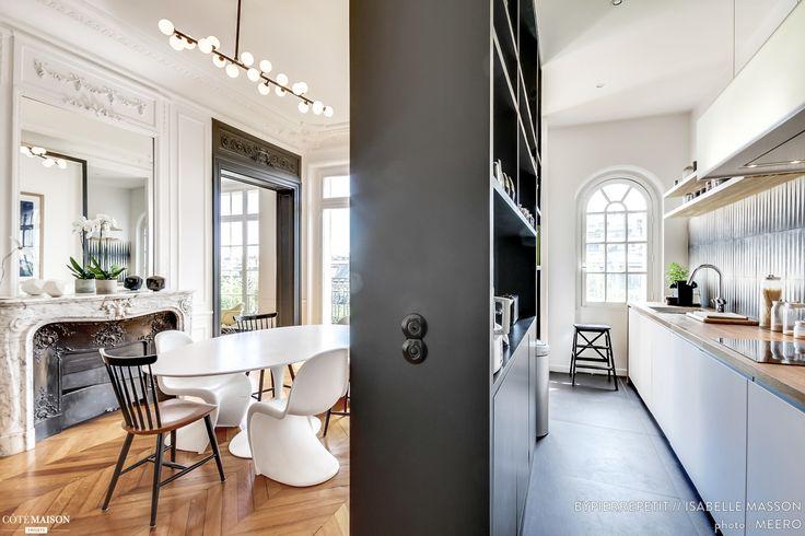 Rénovation d'un appartement Haussmannien dans le centre de Paris, Paris, BYPIERREPETIT - architecte d'intérieur