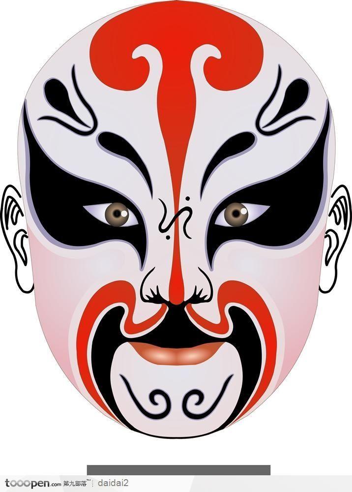 Facial design of Peking Opera | Masquerade 2 | Pinterest ...