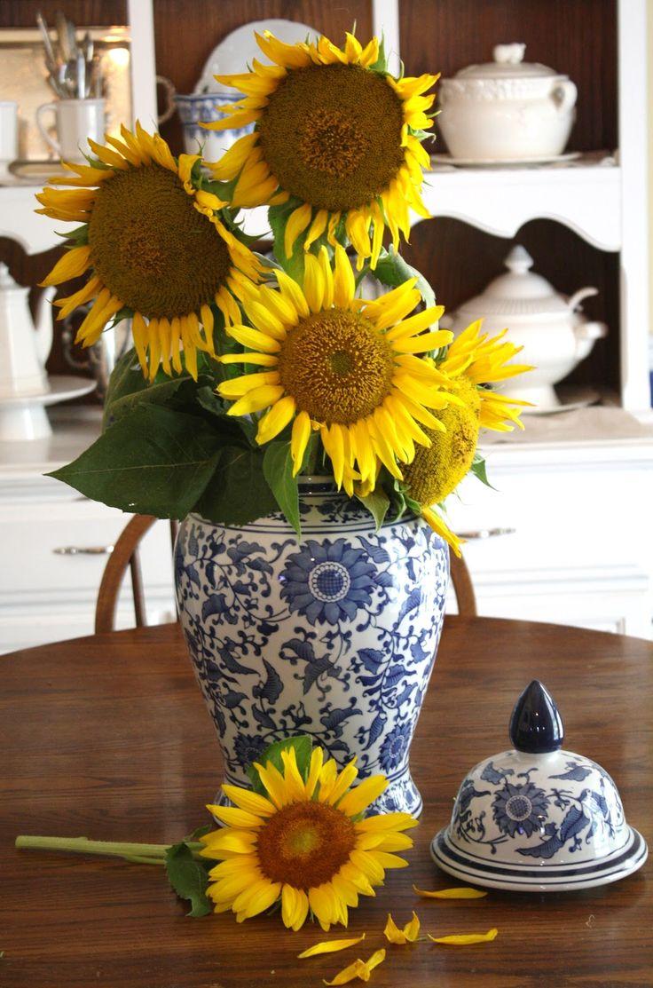 Sunflowers In A Vase Google Search Random Board