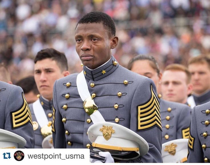 This West Point Cadet was born in Haiti gained his citizenship & joined the Corps of Cadets. #Millennials, this is what America looks like