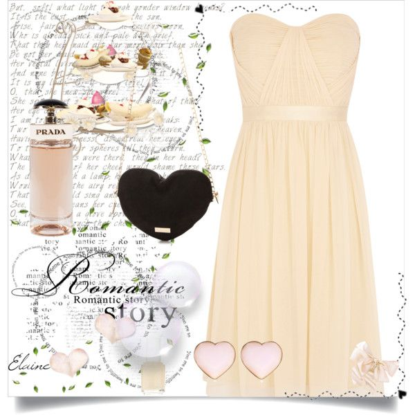 """""""Simple Romantic Story"""" by bogyoemo on Polyvore"""