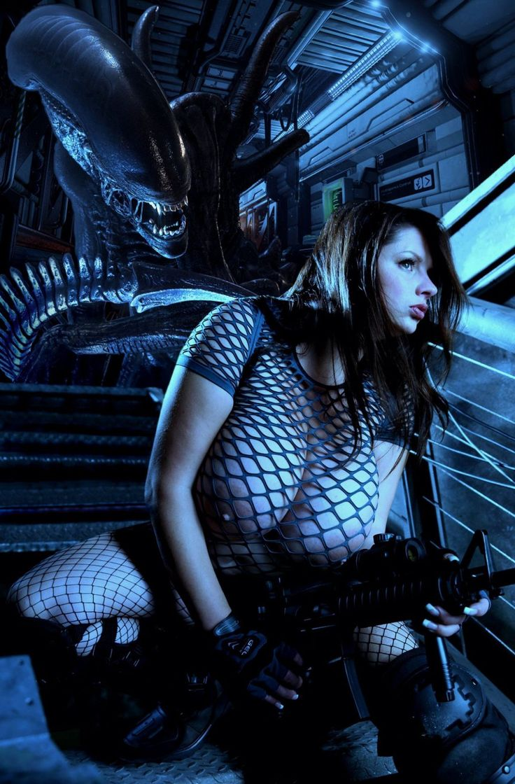 Nadine Jansen - Xenomorph Hunter 5
