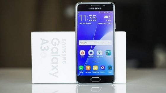 Samsung Galaxy A3 2016 için Android Nougat güncellemesi!