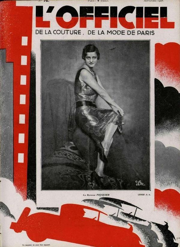 12 best l 39 officiel images on pinterest magazine covers vintage journals and vintage magazines. Black Bedroom Furniture Sets. Home Design Ideas