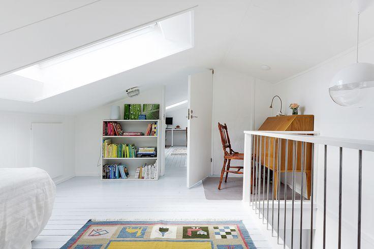 Takfönster i sovrum 4 på vindsplan