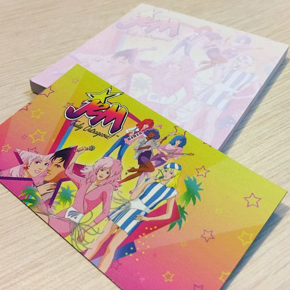 Jem and the Holograms Post-Its & Magnet Set