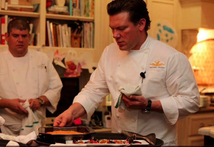 Chef Tyler Florence at the Tony Blair Faith Foundation