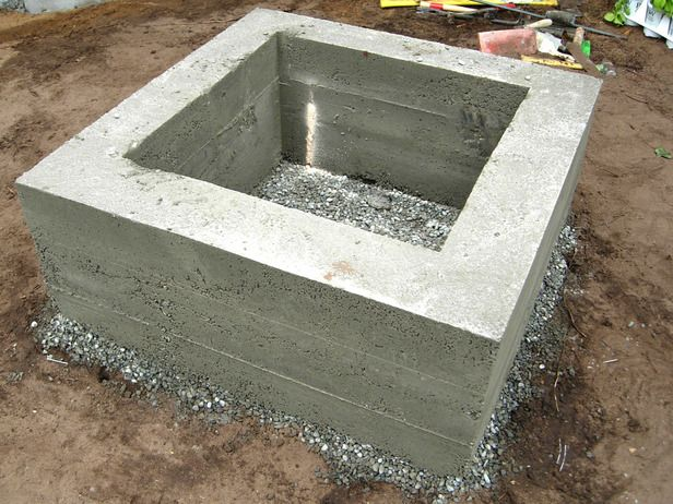 How to Make a Concrete Fire Feature : How-To : DIY Network