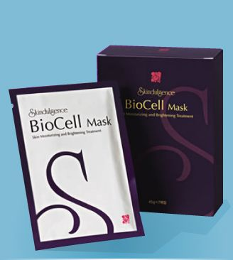 Skindulgence BioCell Mask-PURE LUXURY! Relieve/repair skin impaired by UV-ray and daily stress   Suppress/prevent the formation of melanin, and brighten the skin Improve moisturising + help maintain the balance of oil and water in the skin Anti-oxidant function, can reduce fine lines, increase skin elasticity and supply nutrients to the skin Promote skin regeneration BUY…