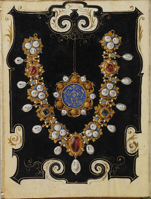 The Jewel Book of the Duchess Anna of Bavaria, Circa 1550.